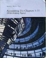 Accounting 21e Chapters 1-11 (with Working Papers) for Warren/Reeve/Fess