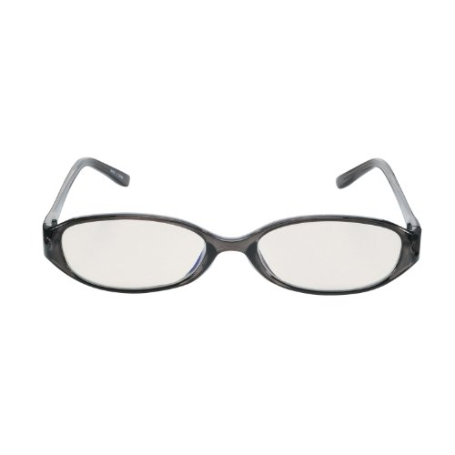 PC Glasses Computer Eyewear Black (Light Brown Lenses, Cuts blue Light by 36%)(Japan Import) (Elecom Blue Light compare prices)