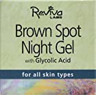 Reviva Labs - Brown Spot Night Gel with Glycolic Acid - 1.25 OZ
