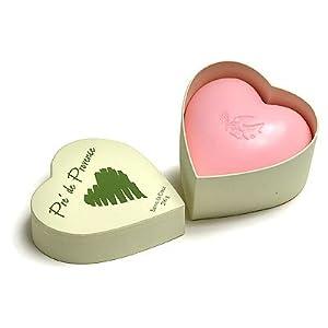 Pre de Provence Rose Heart Shaped Soap Shea Butter Enriched Triple Milled - 200g