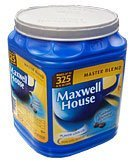 Maxwell House Master Blend Custom Roasted Full Flavor Coffee Value Container 44.5 Ounces