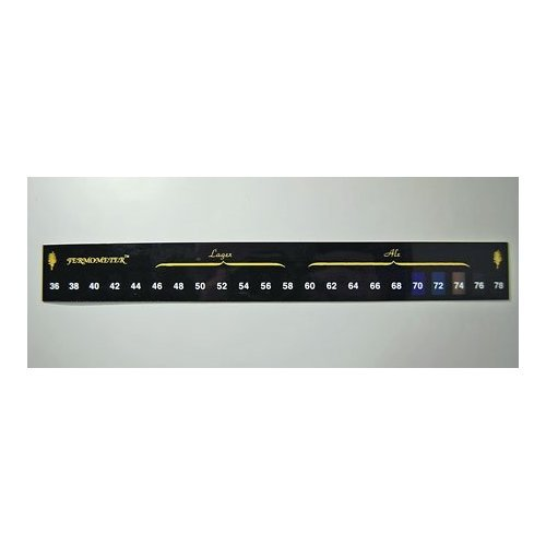 5 X Fermometer Adhesive Strip Thermometer from Fermometer