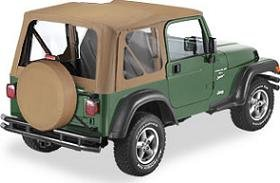 bestop soft top for 1998 2001 jeep wrangler automotive. Black Bedroom Furniture Sets. Home Design Ideas
