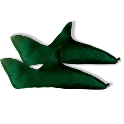 Felt Elf Shoes Costume Accessory