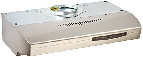 Broan QS130SS Allure Range Hood, Stainless Steel, 30-inch (Range Hoods compare prices)
