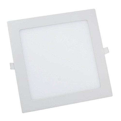Cozyswan®New Energy Saving Cool White 18W Led Panel Light Square Ceiling Downlight Lamp