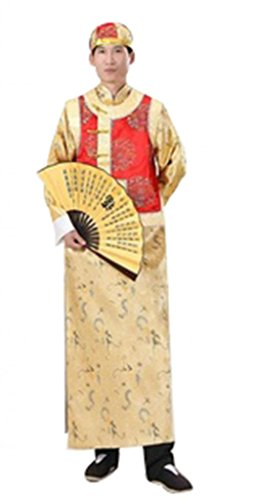 Chinese ancient costume Halloween Cosplay Gowns Brother Dress Costume