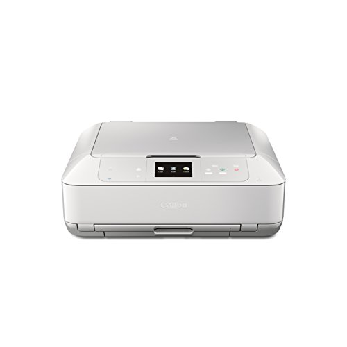 CANON MG7520 Wireless Color Cloud Printer with Scanner and Copier: Mobile, Smart Phone, Tablet Printer, and AirPrint(TM) Compatible,White