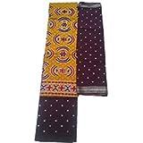 Dresses Materials For Women (dresses Material Cotton Dresses For Women Dresses For Girls Party Wear)(Bandhani...