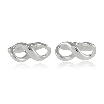 Cuff-Daddy Infinity Cufflinks in Sterling Silver