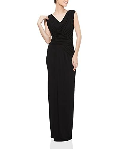 The Jersey Dress Company Vestido 3317 Negro ES 36 (IT 40)