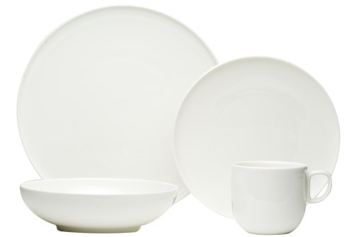 Red Vanilla Everytime White 24-Piece Dinnerware Set (Red Vanilla Dishes compare prices)