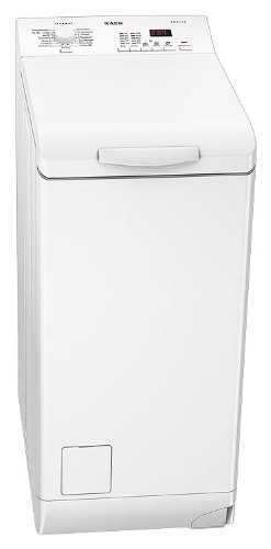 AEG LAVAMAT L60260TL Waschmaschine Toplader / A+ AB / 1200 UpM / 6 kg / 1.02 kWh / 52 Liter / Optisense-Waschsystem / Fuzzy Logic Mengenautomatik / weiß