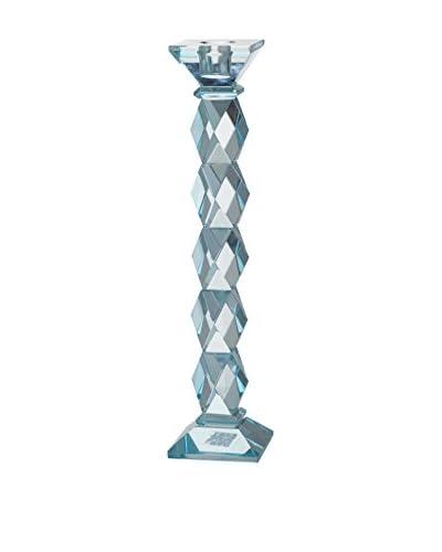 David Tutera 11.5″ Crystal Candleholder, Blue
