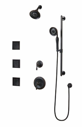 Kohler K-10855-4-2BZ Devonshire Luxury Performance Showering Package, Oil Rubbed Bronze (Kohler Shower Package compare prices)