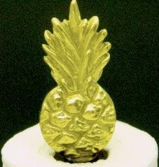 Mayer Mill Brass Pineapple Paper Towel Holder