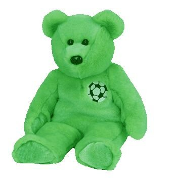 TY Beanie Buddy - KICKS the Soccer Bear by Ty Inc. - 1