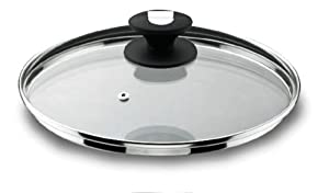 Lacor-71928-GLASS LID WITH STEAM HOLE 28 CM.