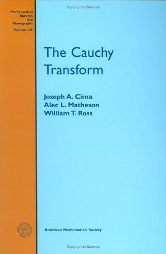 The Cauchy Transform (Mathematical Surveys and Monographs)