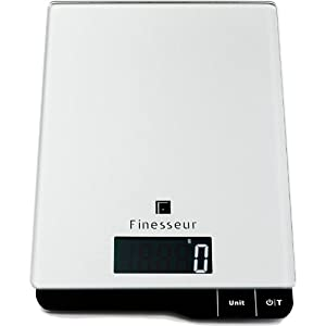 Finesseur Food Scale - Digital Kitchen Scale: Perfect Recipes Should Be This Easy by Finesseur