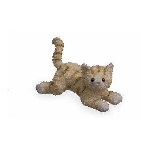 Plush Bootsie Cat Orange Tabby Cat 13
