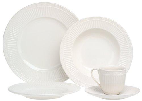 Mikasa Italian Countryside 45-Piece Dinnerware Set, Service for 8