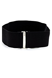 M&S Collection Wide Elasticated Buckle Belt
