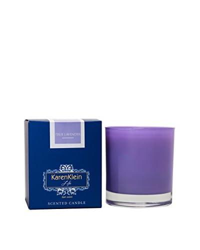 Karen Klein Life Florentine 10.25-Oz. Solid Candle, True Lavender