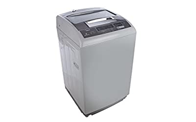 Midea MWMTL065MWO Fully-automatic Top-loading Washing Machine (6.5 Kg, Silver)