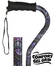 Purple Majesty Walking Cane Comfort Gel Grip