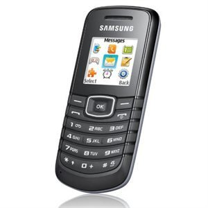 Samsung Guru GT E1081T Sim Free Unlocked Mobile Phone - Black