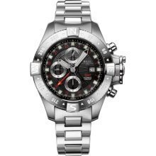 Ball DC2036C-S-BK Watch Spacemaster Orbital Mens - Black Dial Stainless Steel Case Automatic Movement