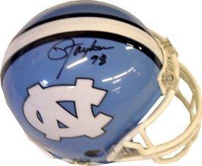 Lawrence Taylor Autographed Hand Signed North Carolina Tarheels Mini Helmet