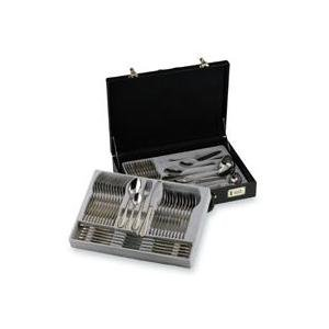 Sterlingcraft 72-Pc. 18/10 Stainless Steel Flatware and Hostess Set