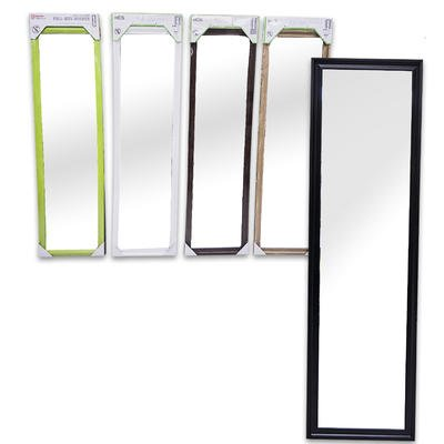 Over The Door Beveled Edge Mirror