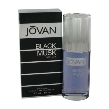 Jovan Black Musk Cologne Spray for Men, 3 fl oz