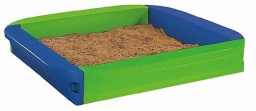 Imagen principal de BIG 56725 - Caja de arena para jugar color azul / verde