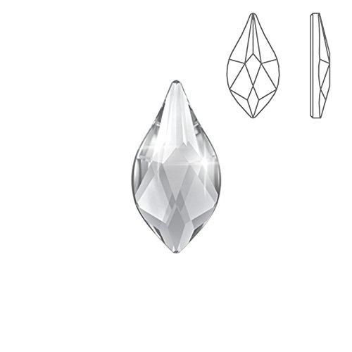 Swarovski HotFix 2205Retro Piatto fiamma cristallo 14mm anello