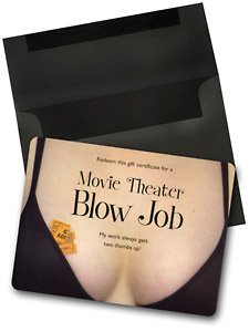 Movie Theater Blow Job