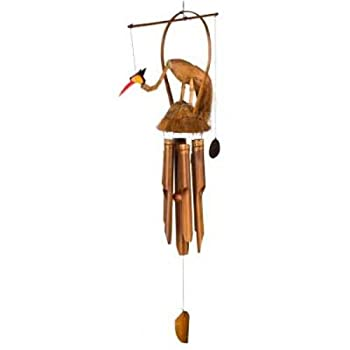 Woodstock Asli Arts 37 Inch Gilbert Gooney Wind Chime