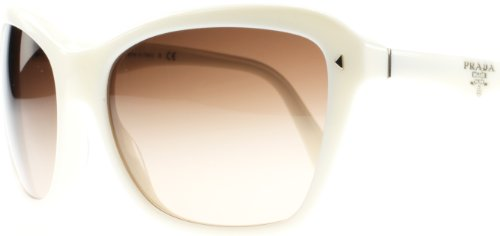 prada Prada 24NS 7S36S1 Ivory 24NS Swing Square Sunglasses