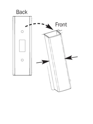 Child Proof Light Switch Guard For Decora Rocker Style Light