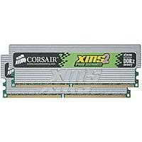 Click to buy CORSAIR XMS2 PRO 2GB ( 2 x 1GB ) PC2-6400 800MHz 240-Pin DDR2 CL4 Dual Channel Desktop Memory Kit - TWIN2X2048-6400C4PRO - From only $60