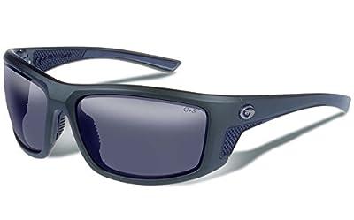 Gargoyles Eyewear Stance Matte Utility Green Frame With Smoke Polarized Lens