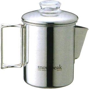 スノーピーク ステンレスパーコレーター6カップ PR-006