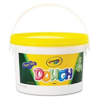 6 Pack Modeling Dough, Yellow, 3 lbs by Crayola. (Catalog Category: Paper, Pens & Desk Supplies / Art & Drafting)