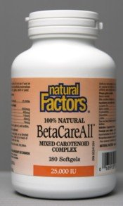Betacareall (180Capsules) Brand: Natural Factors без пудры и грима 1957 2007