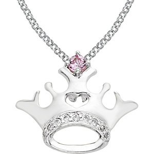 Genuine IceCarats Designer Jewelry Gift Sterling Silver Cr 02.40 Mm 14 Inch Cr In Sterling Silver