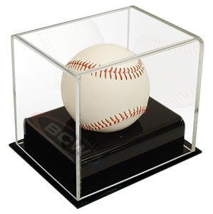 Buy BCW Deluxe Acrylic Baseball Holder Display - Sports Memoriablia Display Case -... by BCW