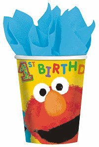 Sesame Street 1st - 9 oz. Paper Cups Party Accessory - 1